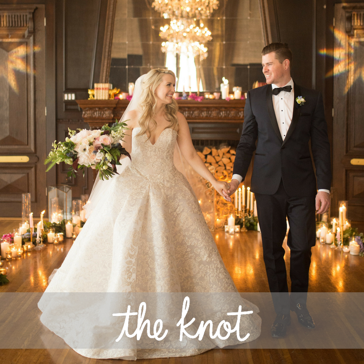Starry Night inspiration on the knot