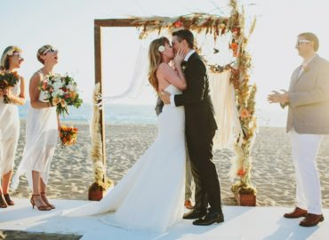 Dream Bohemian Wedding Featured on The Knot