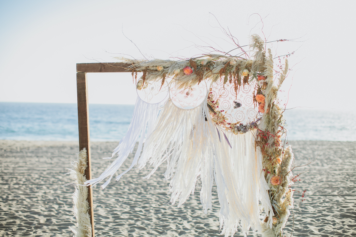 Dream Bohemian Wedding Featured on The Knot - Hylah White