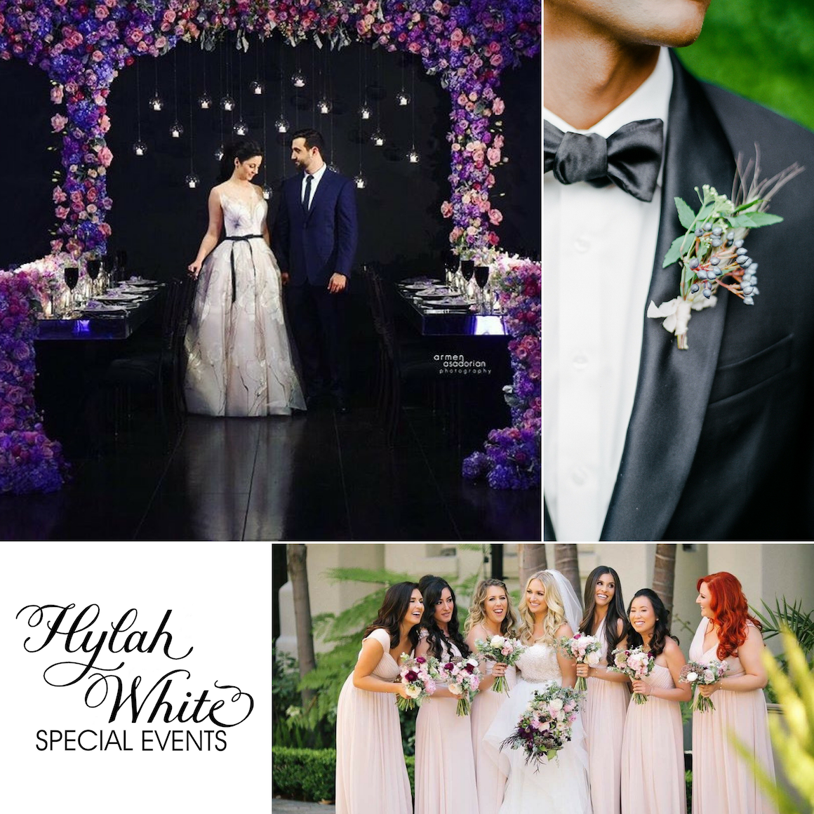 Wedding Flowers, Hylah White Special Events