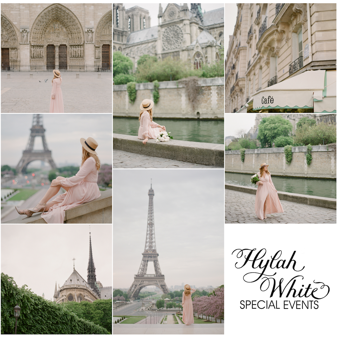 Portrait Session Around Paris, Hylah White, Greg Finck