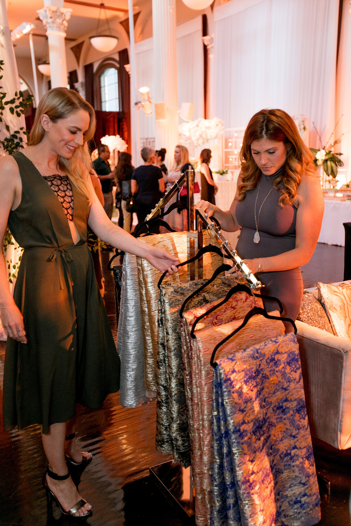 Hylah White Special Events, Linen, Bottega Louie, Luxe Linen, Luxe Launch