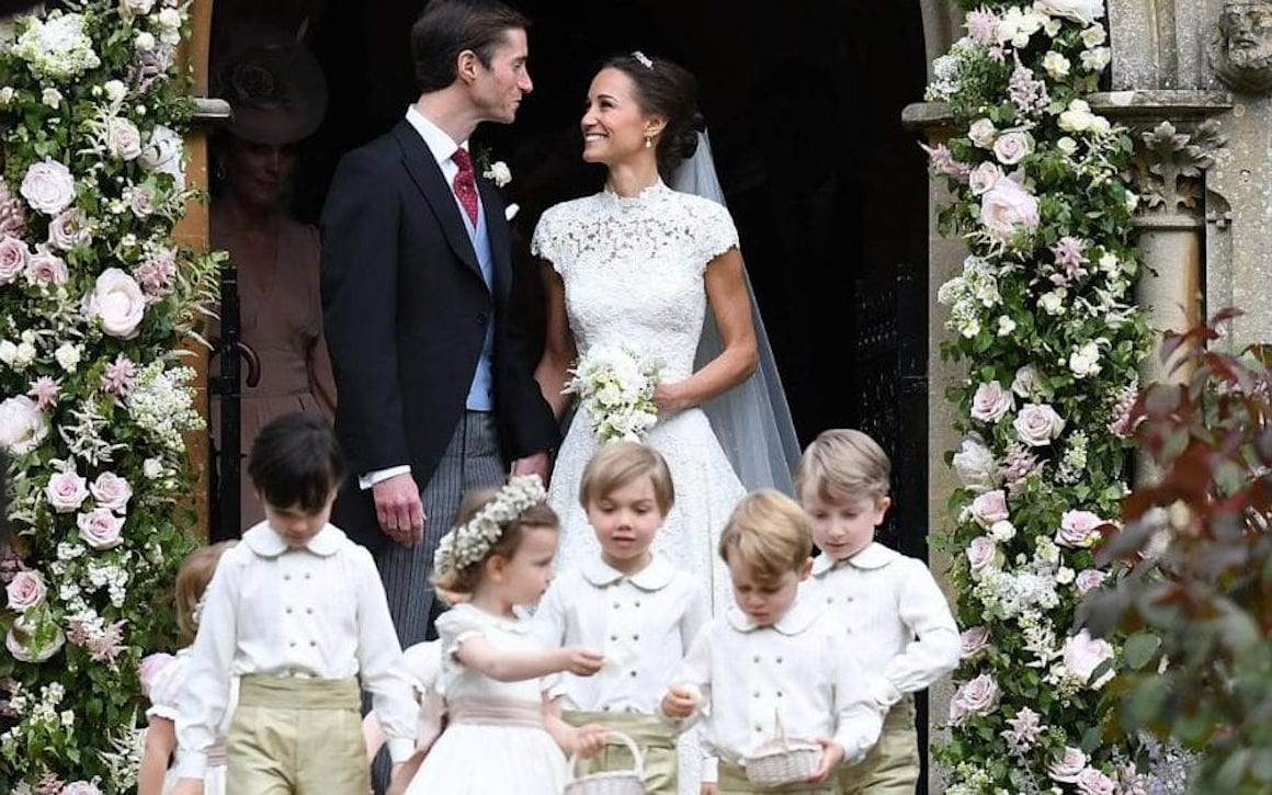 Royal Wedding Reception Pippa Middleton