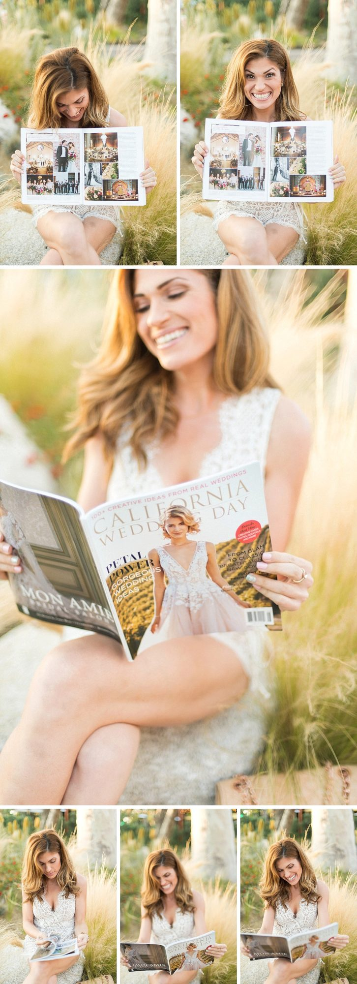 Hylah White Featured in California Wedding Day, real wedding, lorely meza