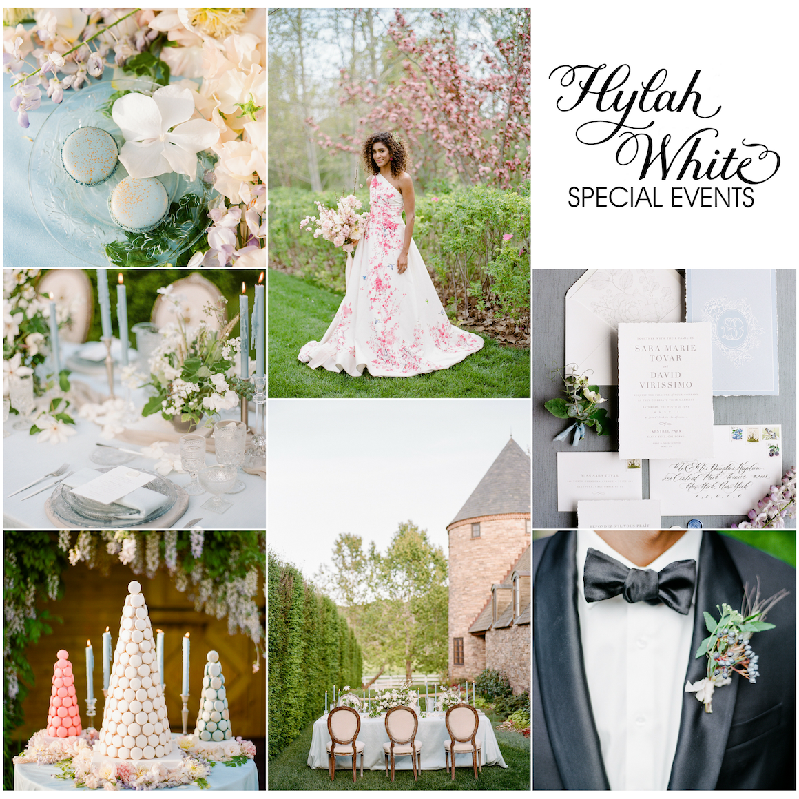 Cherry Blossom Wedding, French Countryside Wedding, Hylah White Special Events, Rebecca Yale Photo, Kestrel Park,