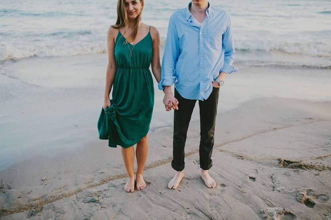 Engagement, Hylah White, Wild Whim, Outdoor Engagements, Beach