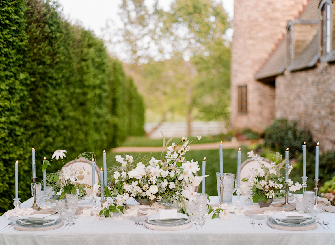Cherry Blossom Wedding, French Countryside Wedding, Hylah White Special Events, Rebecca Yale Photo, Kestler Park