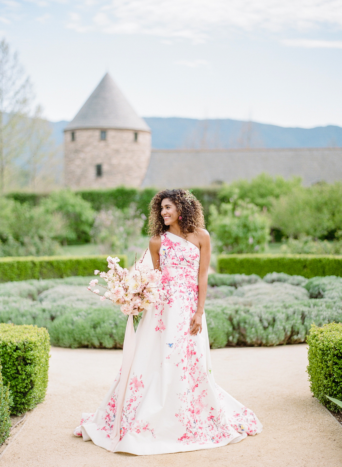 Cherry Blossom Wedding, French Countryside Wedding, Hylah White Special Events, Rebecca Yale Photo, Kestrel Park