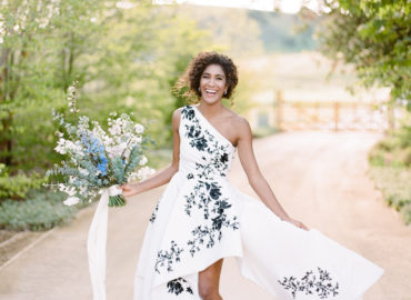 A Not so White Wedding – Incorporating Color into your Wedding Dress