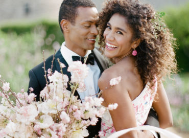 Cherry Blossom Wedding Beauty on Style Me Pretty