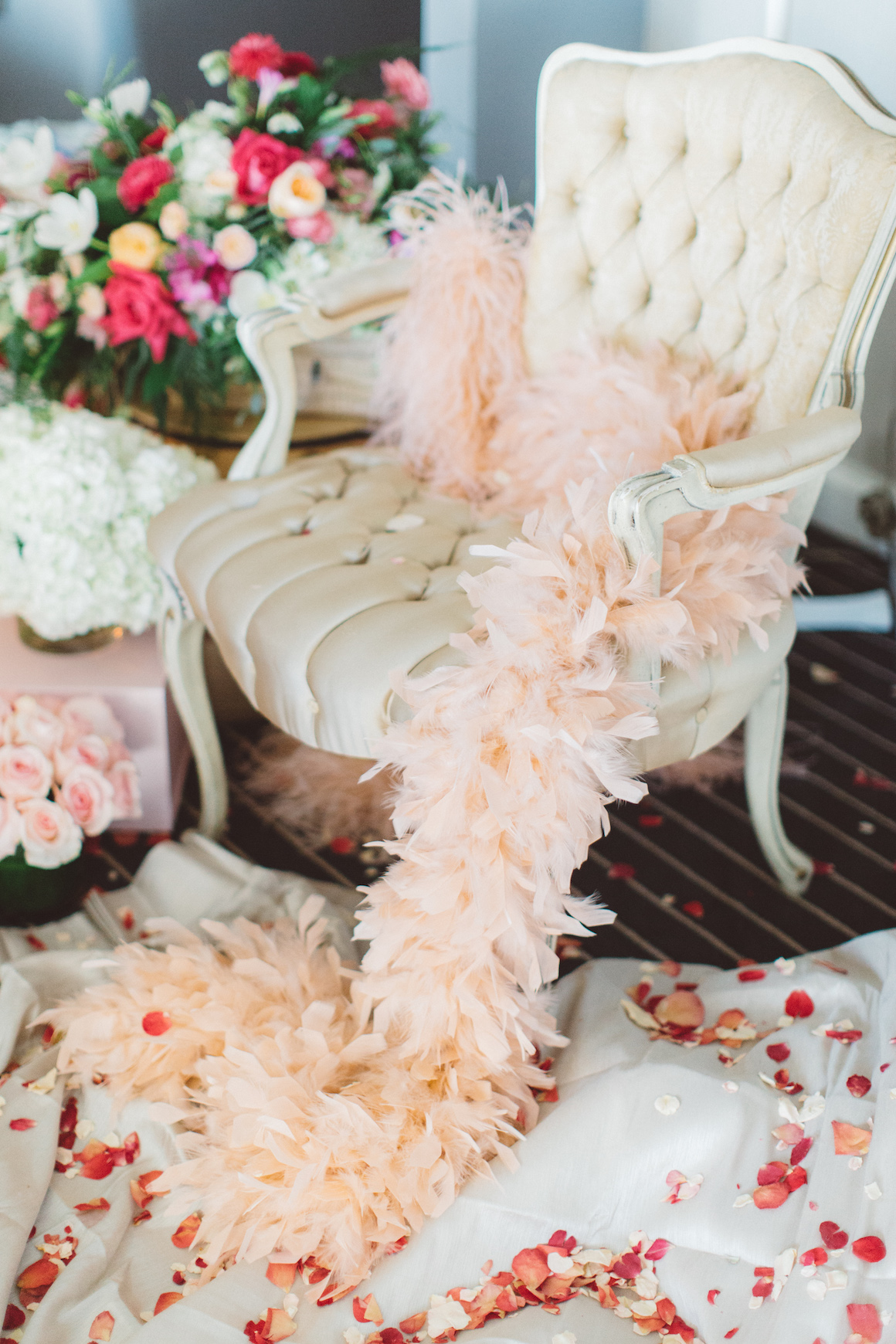 Valentine's Day Boudoir Beauty Featured on Flutter Magazine - Hylah White Special Events