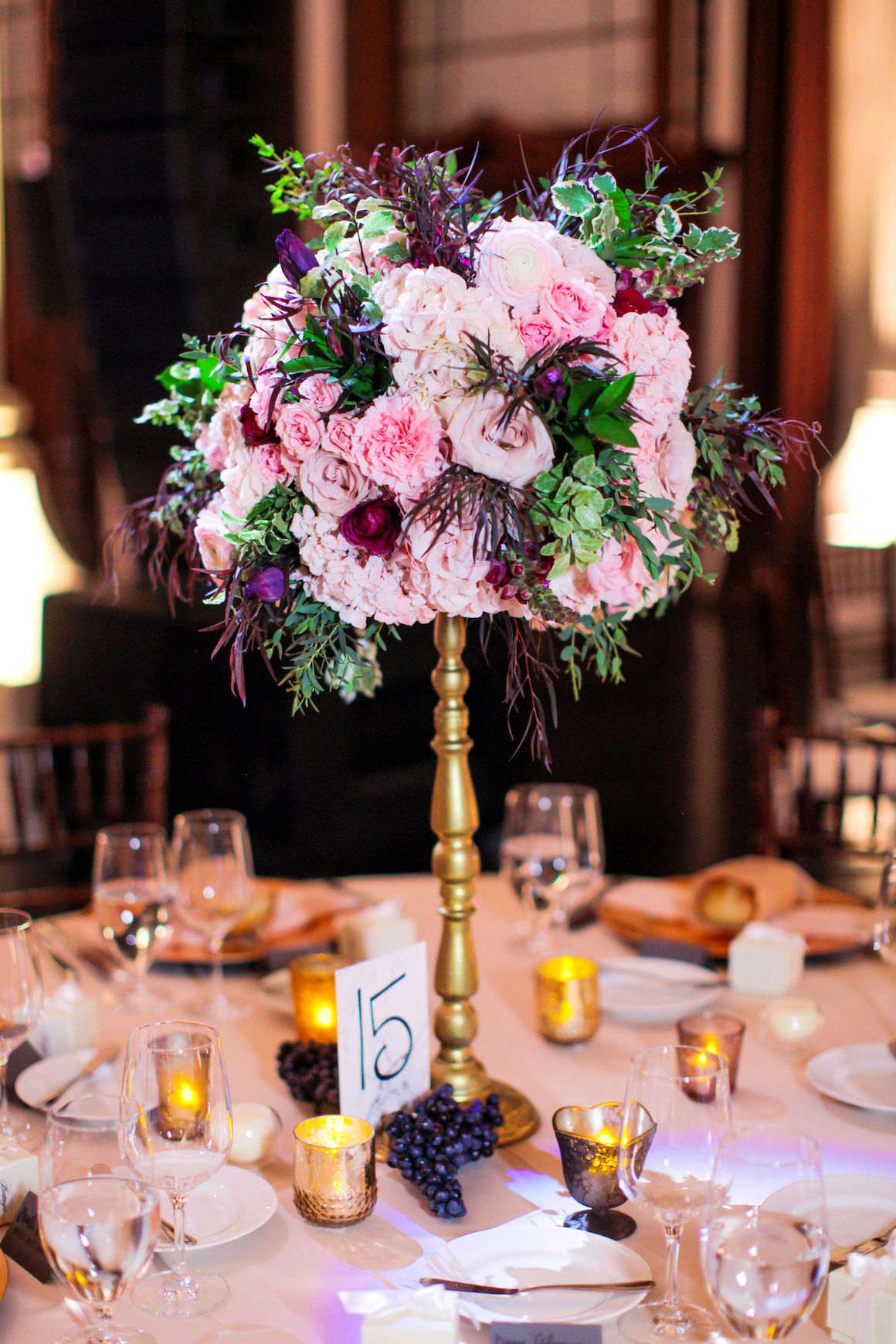 Organic Baroque Wedding Featured on Reverie Gallery - Hylah White Special Events