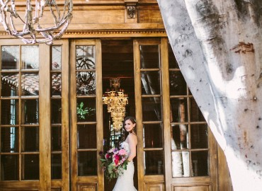 Valentine's Day Wedding, Hylah White Special Events, Carondelet House
