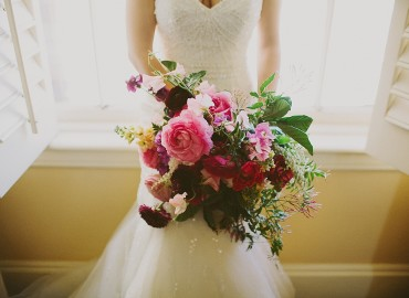 Romantic Valentine's Day Wedding at Carondelet House
